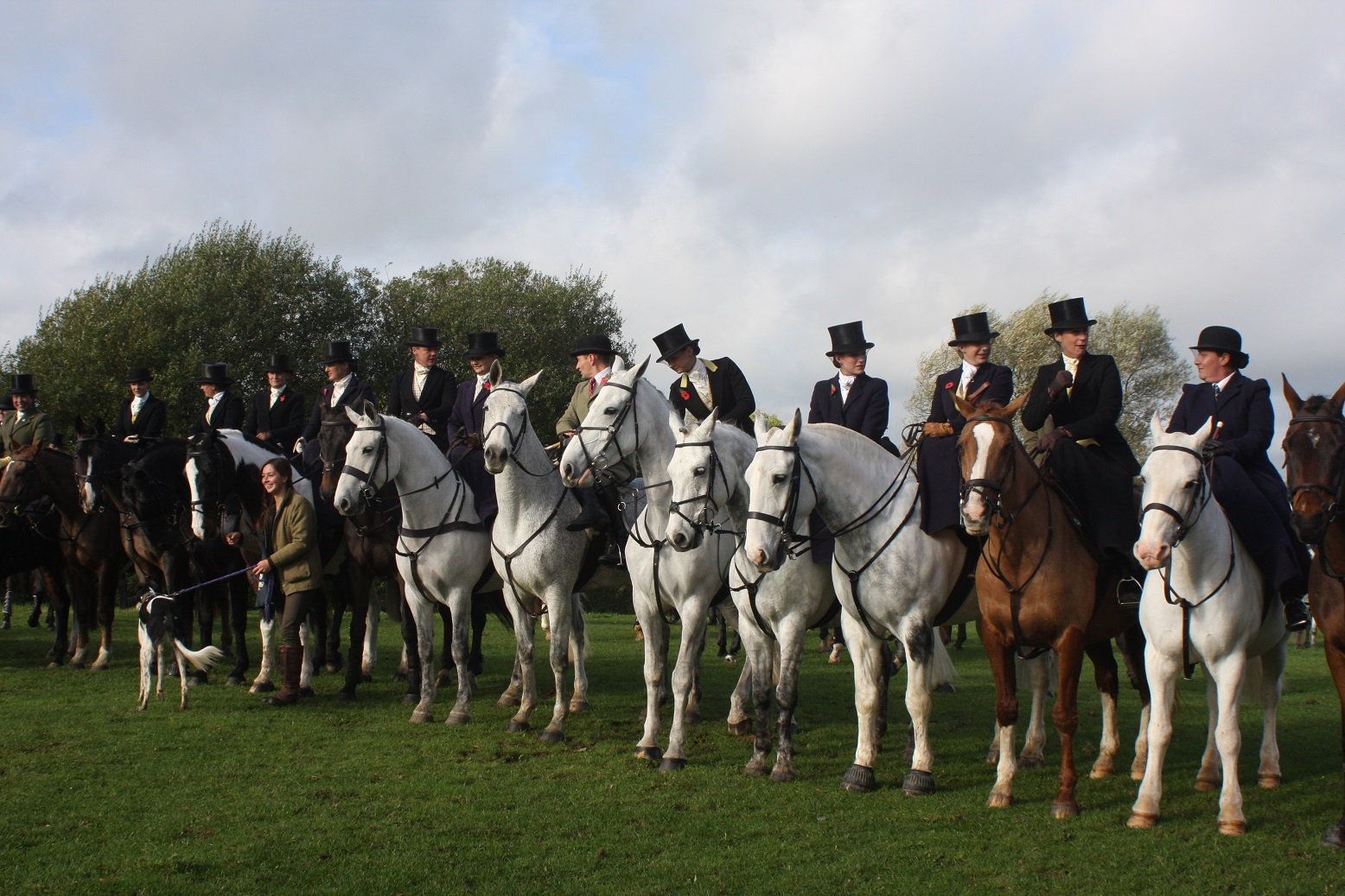 IMG 3294 Copy - Quorn Hunt Opening Meet Friday 25th October 2013