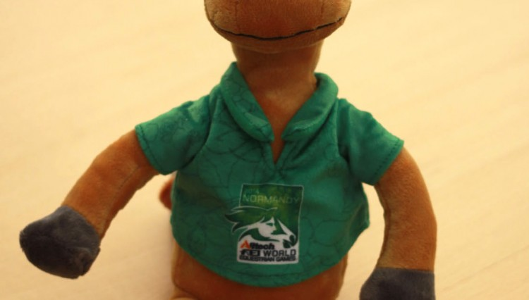 Norman 3 750x426 - Meet Norman the official mascot to the Alltech FEI World Equestrian Games 2014