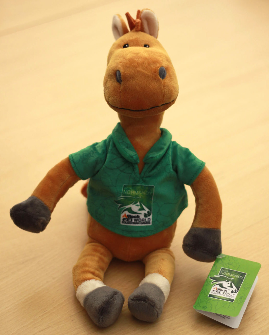 Norman 3 - Meet Norman the official mascot to the Alltech FEI World Equestrian Games 2014