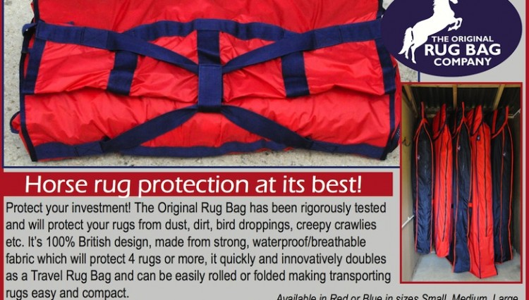 smallRugBagadvert August2013 750x426 - The Original Rug Bag - horse rug protection at its best