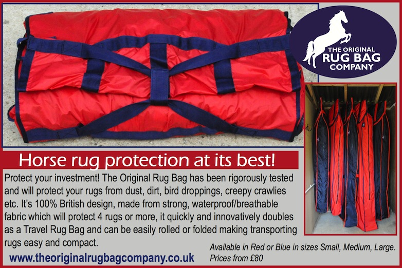 smallRugBagadvert August2013 - The Original Rug Bag - horse rug protection at its best