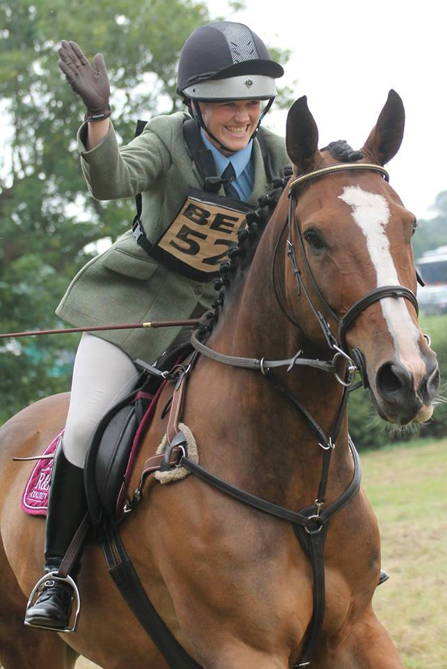 Lizzie Reid - Ackworth Riders Qualify for Badminton Grassroots Final!