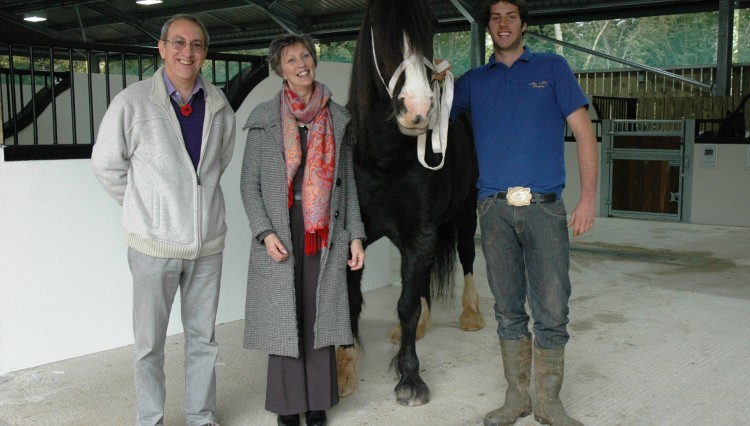Nigel Giuliana and Jess 2 750x426 - Sanctuary Celebrates Opening of New Visitor Centre Barn