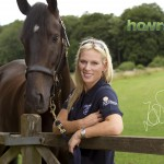 Zara Phillips at Gatcombe