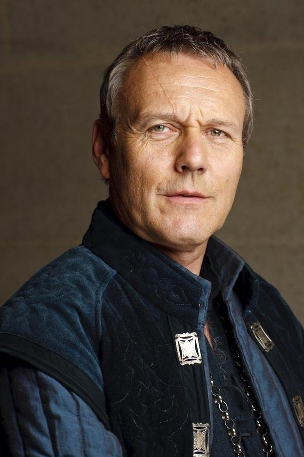 Anthony Head as Luther Pendragon - Somerset Disabled Carriage-Drivers are now Screen Stars