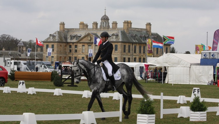 Belton House in the background 750x426 - Belton Horse Trials get under way