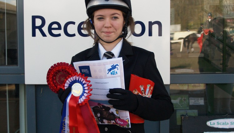 NSEA1 750x426 - An amazing double whammy for De Aston School  Equestrian Team