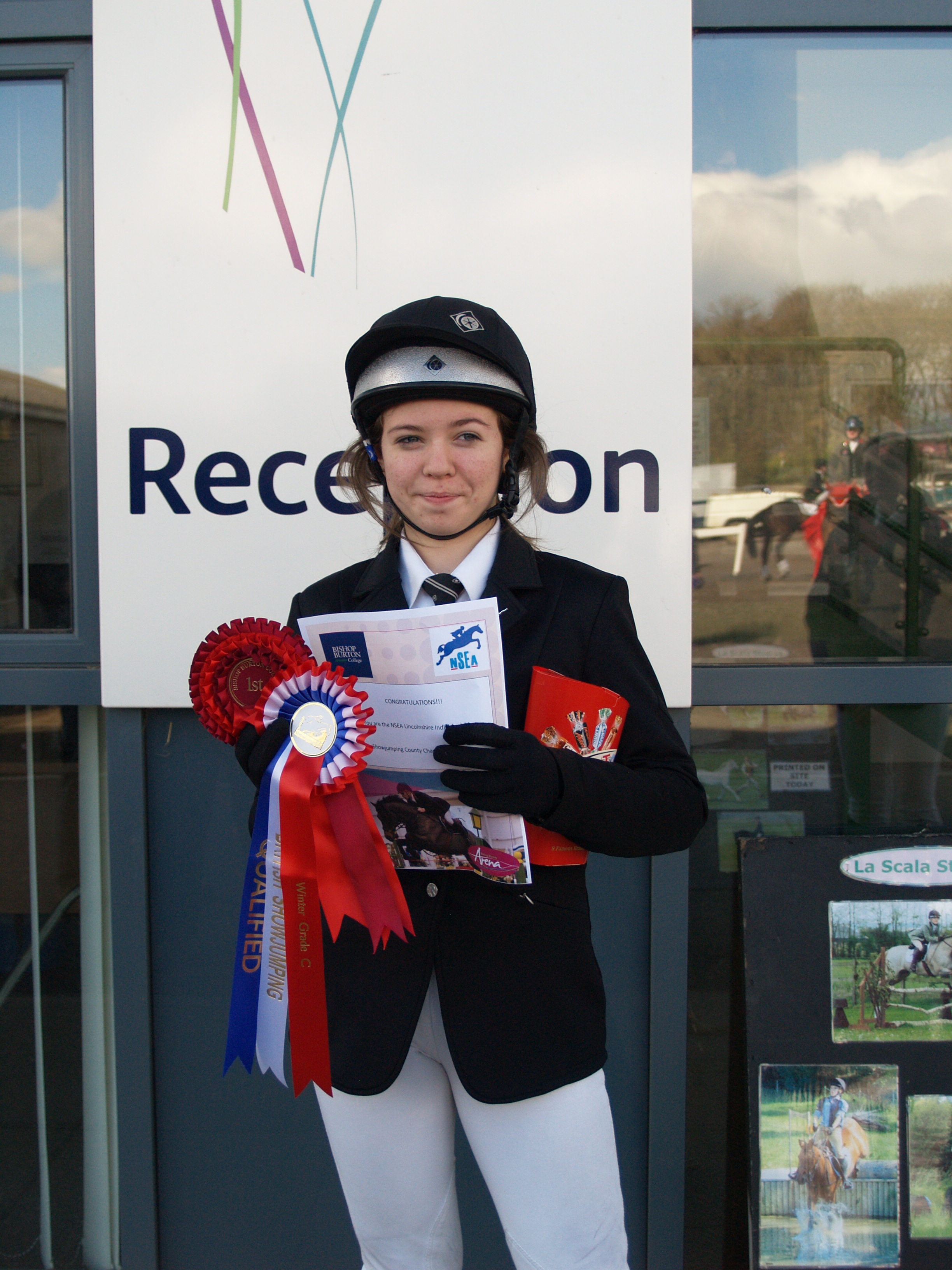 NSEA1 - An amazing double whammy for De Aston School  Equestrian Team