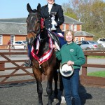 Over 18 winner 150x150 - Riders from Leicestershire & N. Yorkshire win at National Riding Schools Championships
