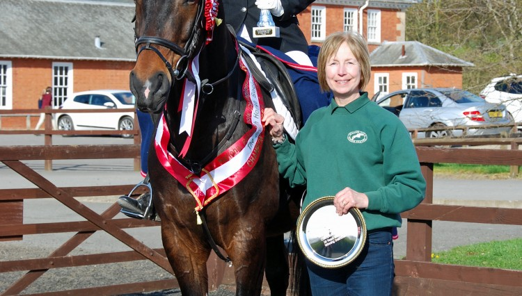 Over 18 winner 750x426 - Riders from Leicestershire & N. Yorkshire win at National Riding Schools Championships