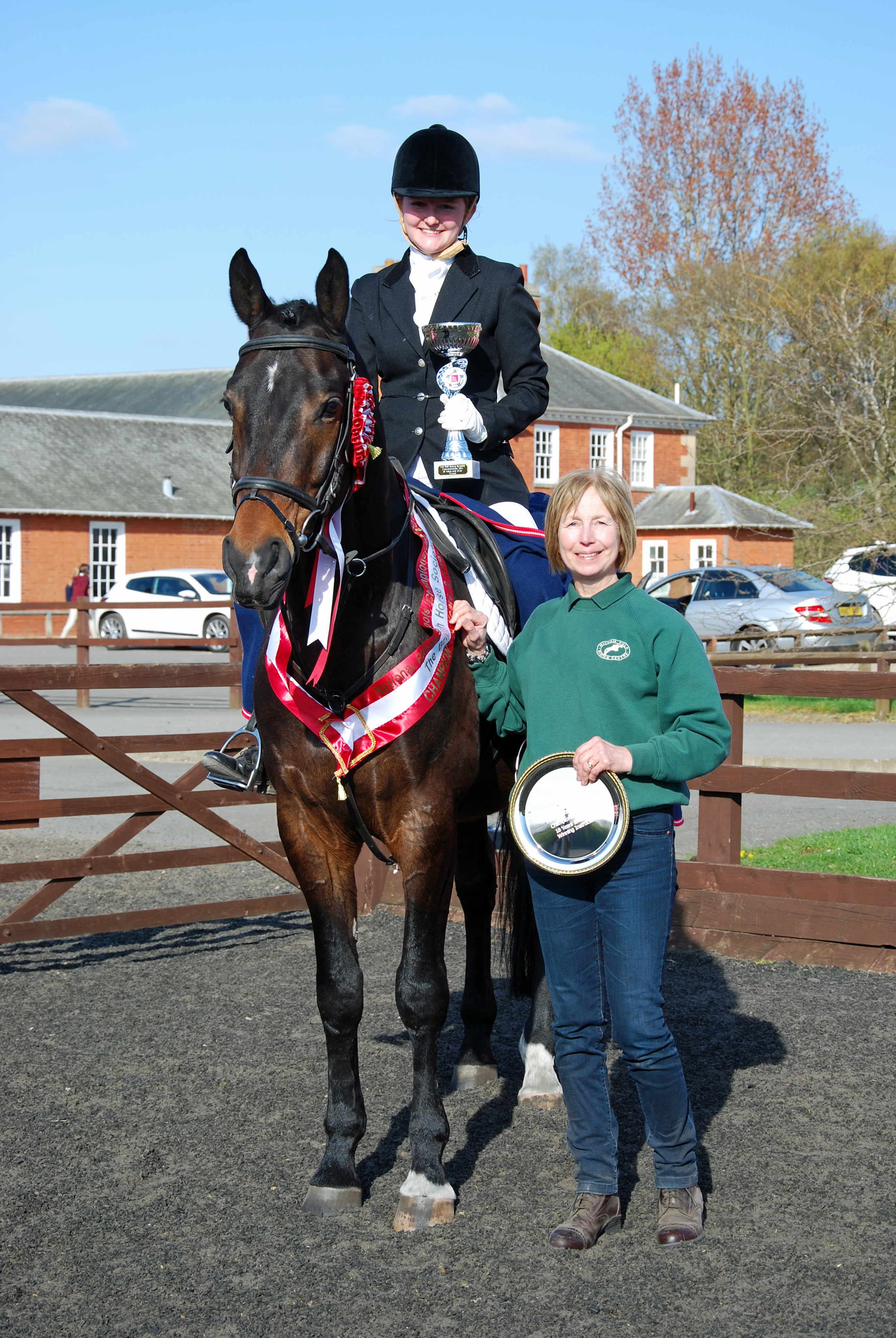 Over 18 winner - Riders from Leicestershire & N. Yorkshire win at National Riding Schools Championships