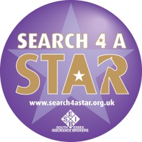 SFAS logo - Search for a Star Qualifier at Vale View on 11th May 2014