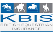KBIS logo - Derbyshire Showjumper Mark Thompson takes first KBIS Insurance Senior British Novice Second Round
