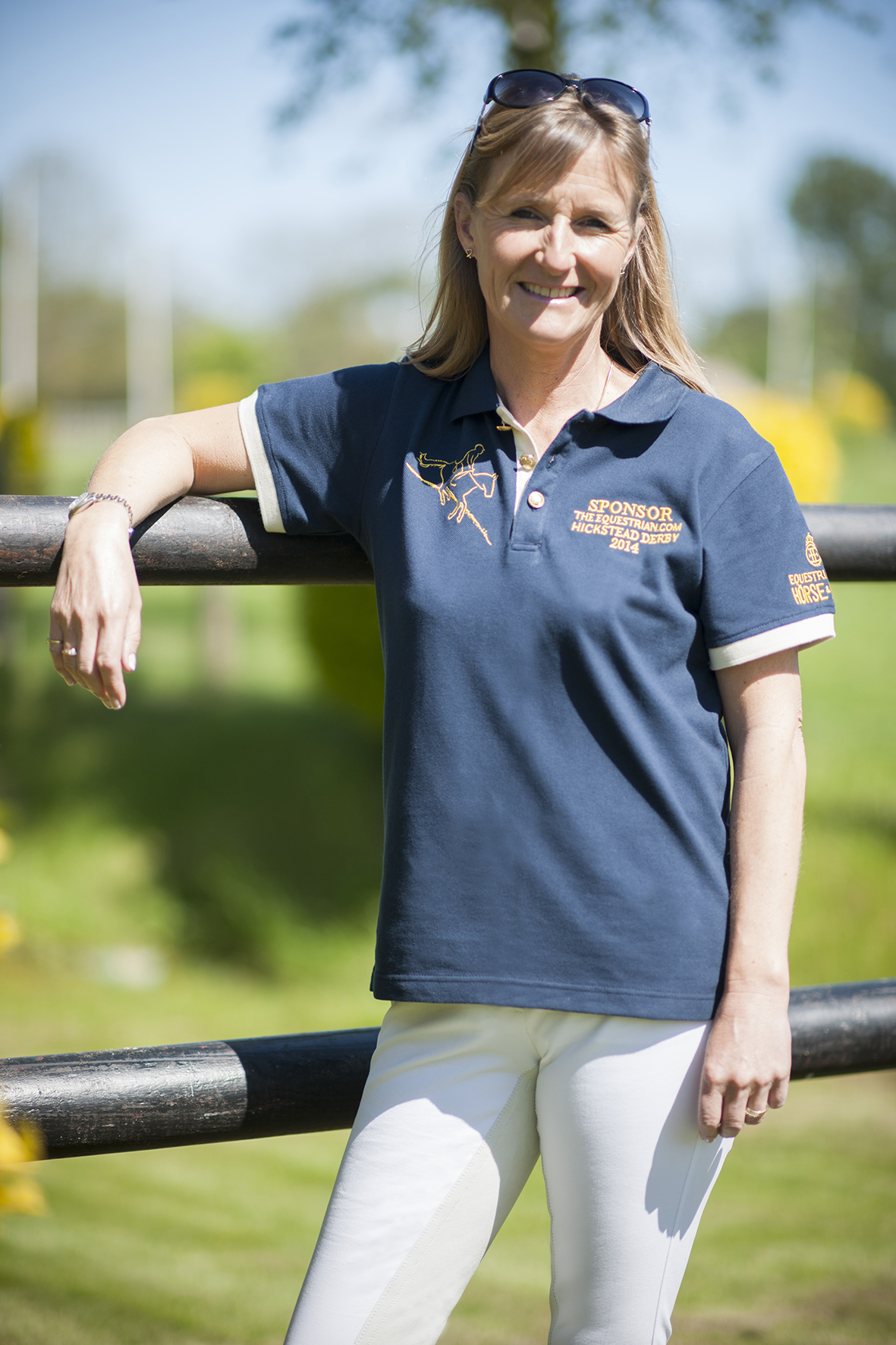 Tiny Fletcher - Tina Fletcher supports the Hickstead Derby Community