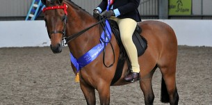 SEIBEllie Conwayn on Rotherwood Mr Pepys 1 Pony - copyright SMR Photos