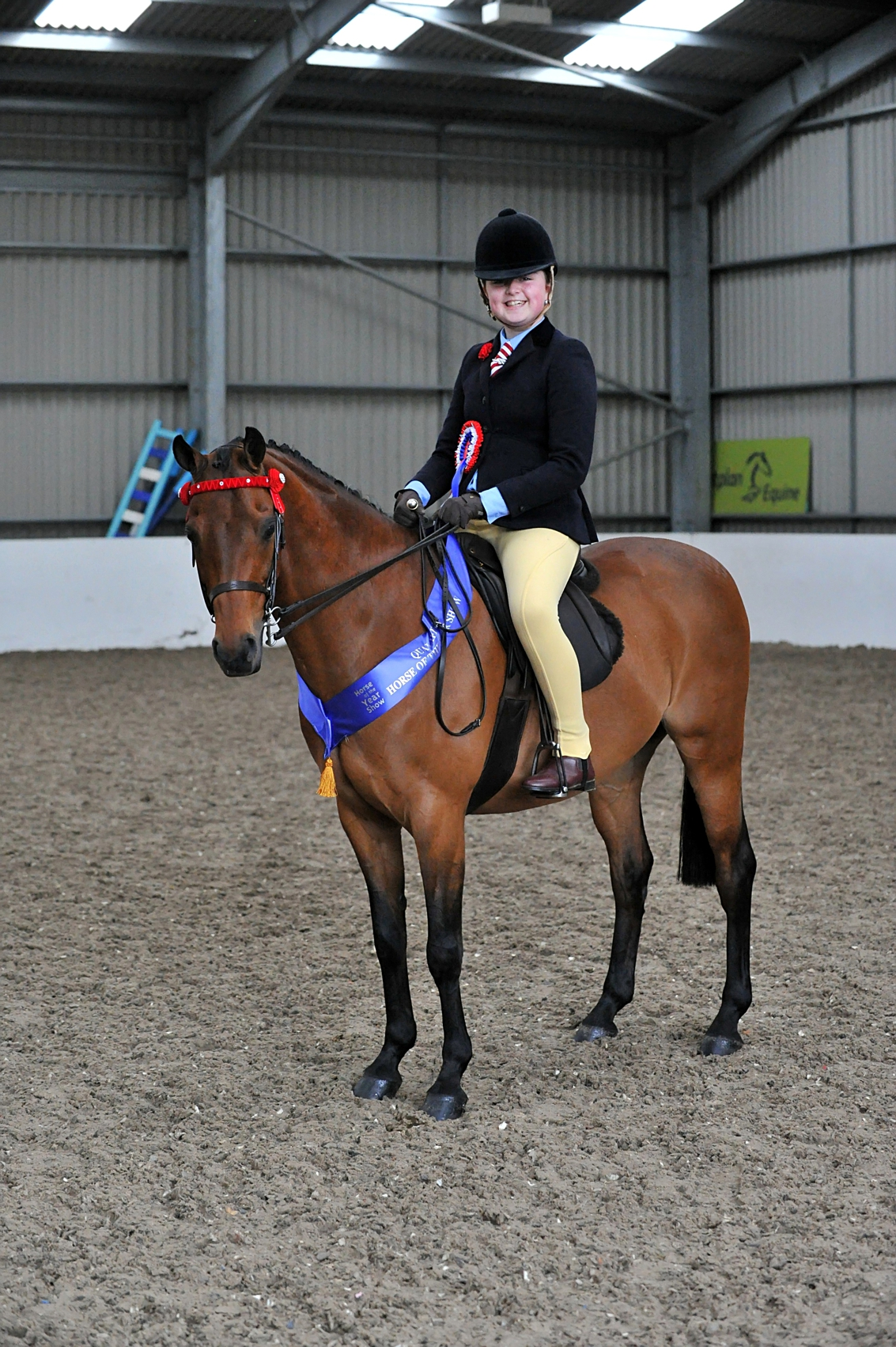 SEIBEllie Conwayn on Rotherwood Mr Pepys 1 Pony copyright SMR Photos - Impressive Turnout At Vale View, South Essex Insurance Brokers Search For A Star Qualifier