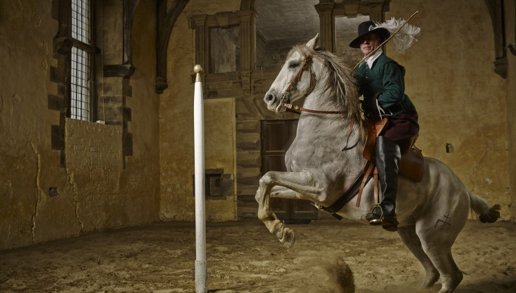 211 01 028 HT image 750x426 - French Dancing Horses At The Home Of 17th Century Master Horseman William Cavendish