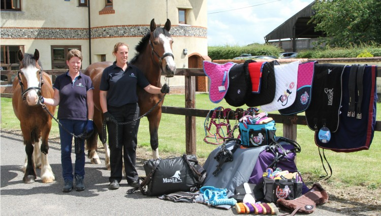 Matchmakers International donation at World Horse Welfare image 750x426 - Generous donation helps horses in crisis