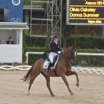 Olivia Oakeley Eur Champs riding Donna Summer (Rio) 3