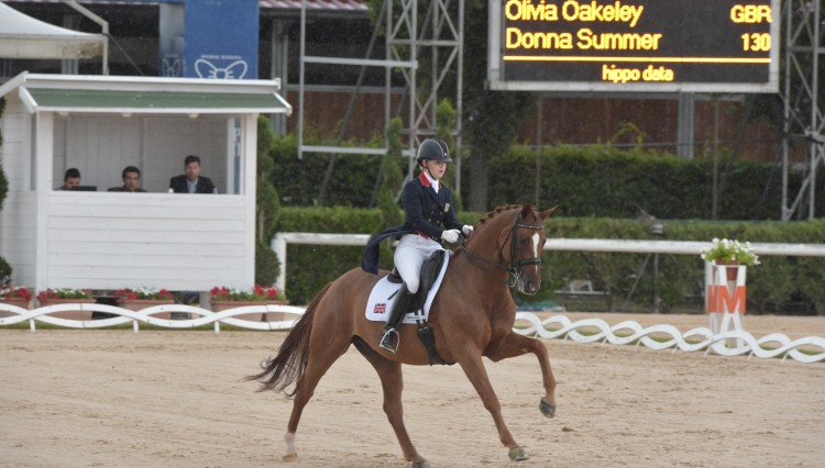 Olivia Oakeley Eur Champs riding Donna Summer Rio 3 750x426 - Outstanding Olivia one of Europe 's best