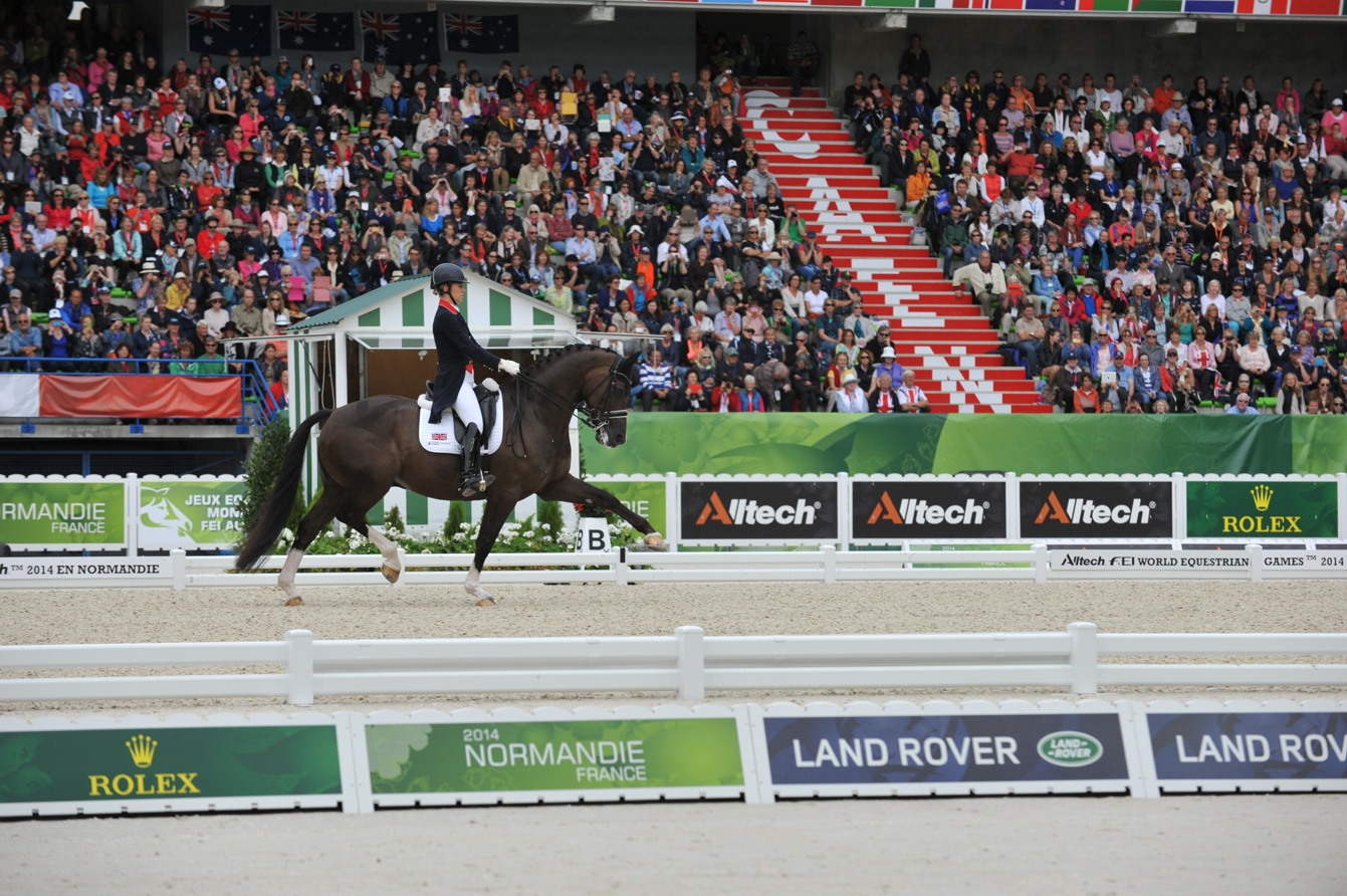 WEG Charlotte Dujardin - New World Dressage Champion Charlotte Dujardin Sponsored by Absorbine®