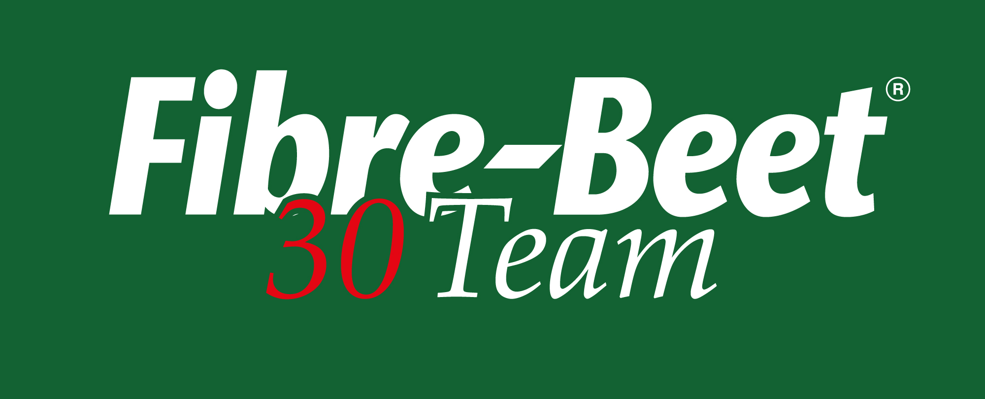 fibrebeet 30 logo on green bg - Fibre-Beet Sponsorship Opportunity