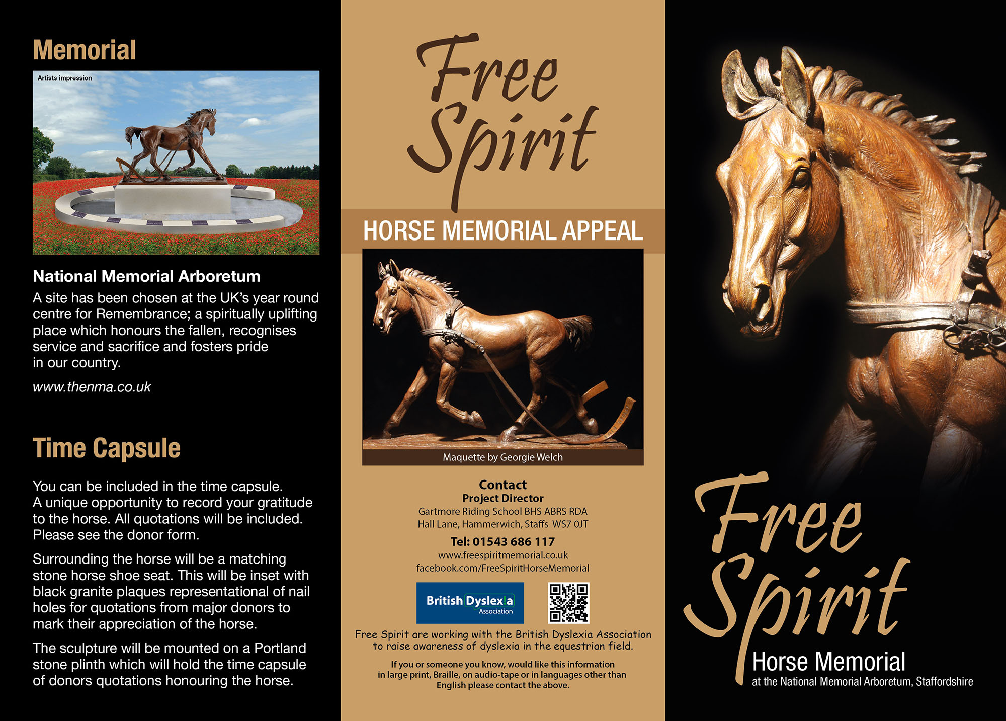Free Spirit Horse Memorial - Free Spirit Horse Memorial Appeal - Art Competition
