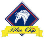 Blue Chip logo - Blue Chip offer Sponsorship for Dressage Riders