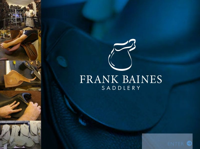 Frank Baines Saddlery - Online Catalogue A First For Saddle Maker
