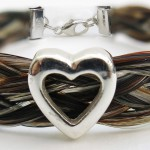 Gemosi Harmony heart horse hair bracelet 150x150 - A truly special gift, for someone special to you