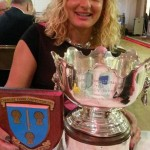 Rebecca with trophy