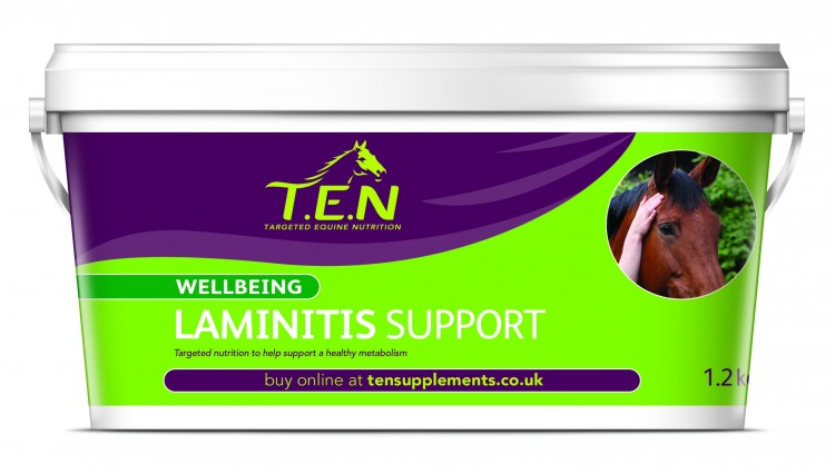 Laminitis Support 750x426 - Support a healthy metabolism with T.E.N. Laminitis Support