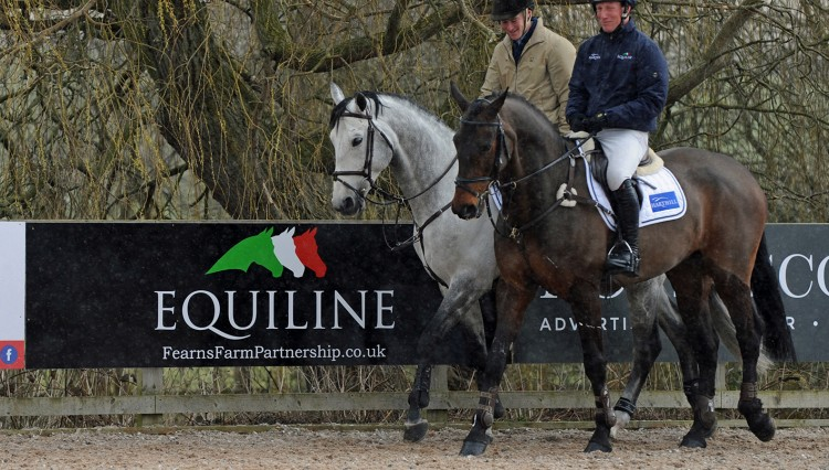 William Whitaker and Oliver Townend 750x426 - Harthill Stud Breeding and Producing the Elite Sport Horse Seminar & Workshop Proves a Huge Success