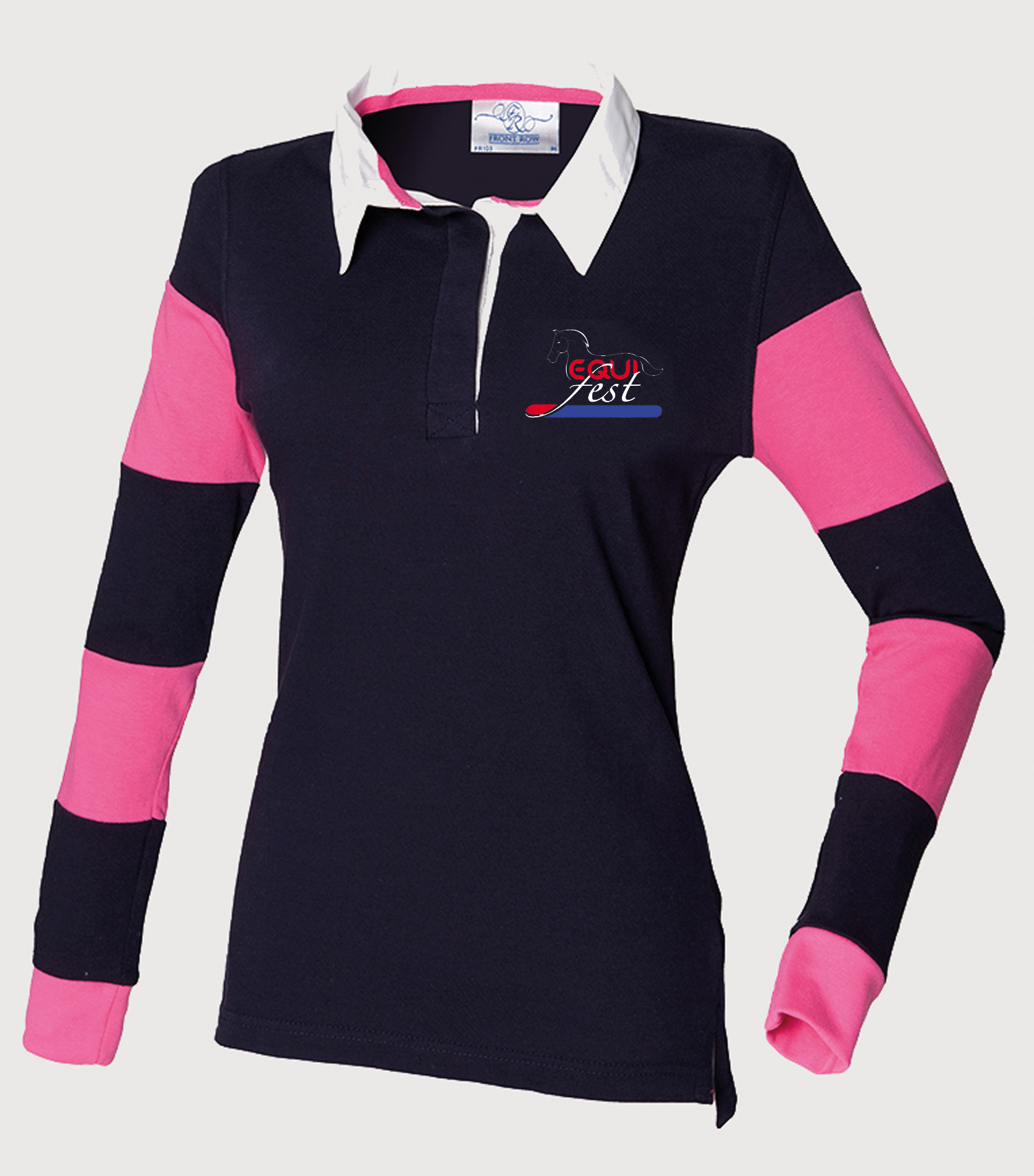 Equifest FR103 Navy Navy BrightPink - Equifest Launch Official Clothing Range