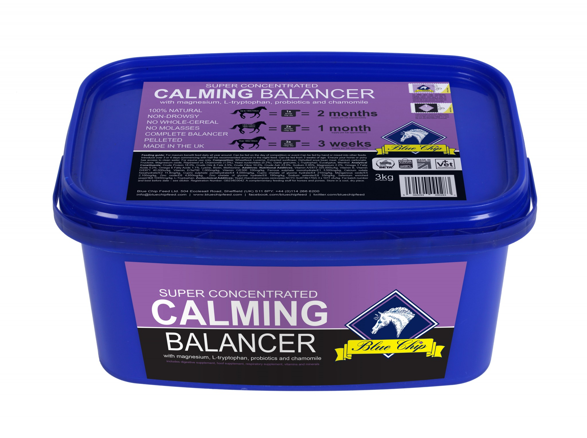 Calm balancer pack HR RGB - Overwhelming response to new product launch leads Blue Chip to extend their offer to customers