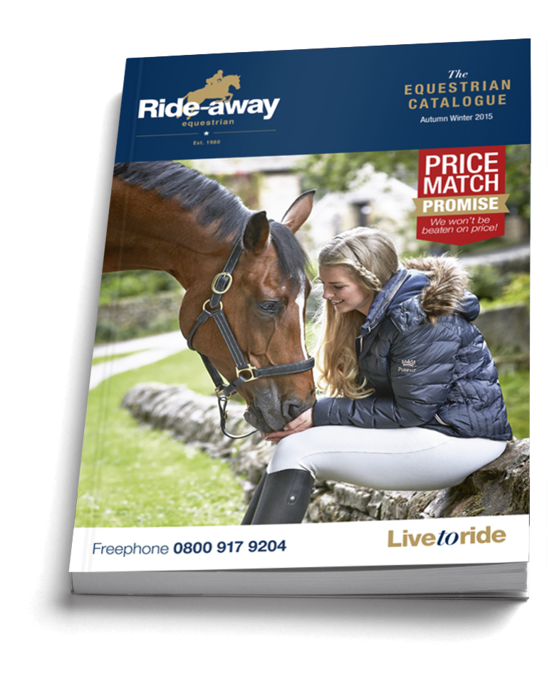 Ride Away AW2015 Catalogue RGB - Horse and Owner Ride Away as Autumn Cover Stars