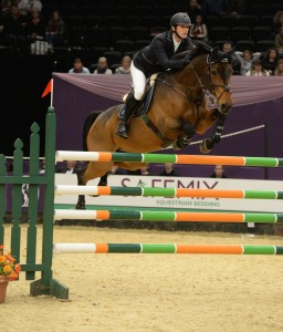 Billy Twomey Leading Showjumper
