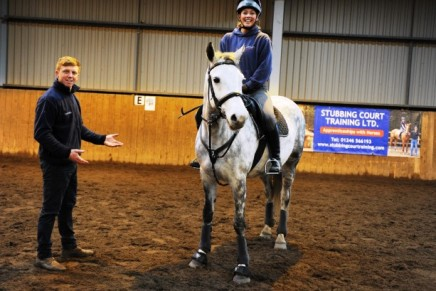 Sampson Shows SCT Apprentices What To Strive For