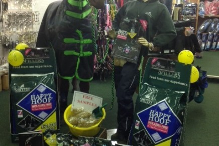 Martins Farm Rotate copy 436x291 - Creative Retailers Win SPILLERS® HAPPY HOOF® Molasses Free Competition