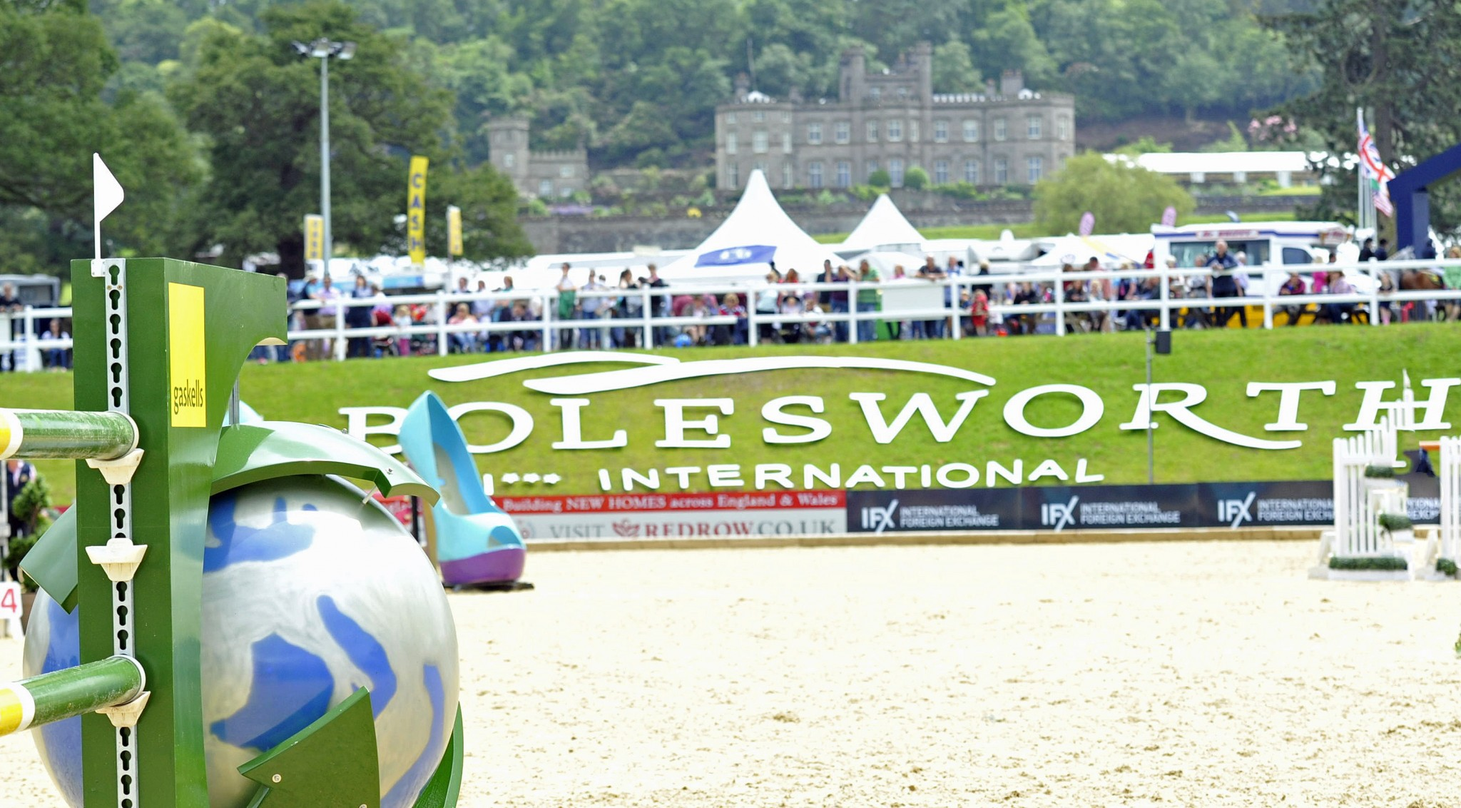 Bolesworth - Book Your Camping for Bolesworth International 2016