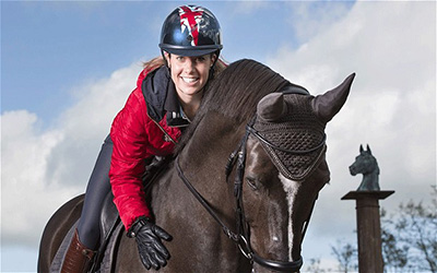 Charlotte Dujardin 08 - Olympic Gold Medallist Dressage Star Signs Modelling Contract