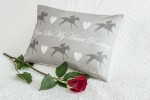 Freddie Parker 'You Set My Heart Racing' Cushion