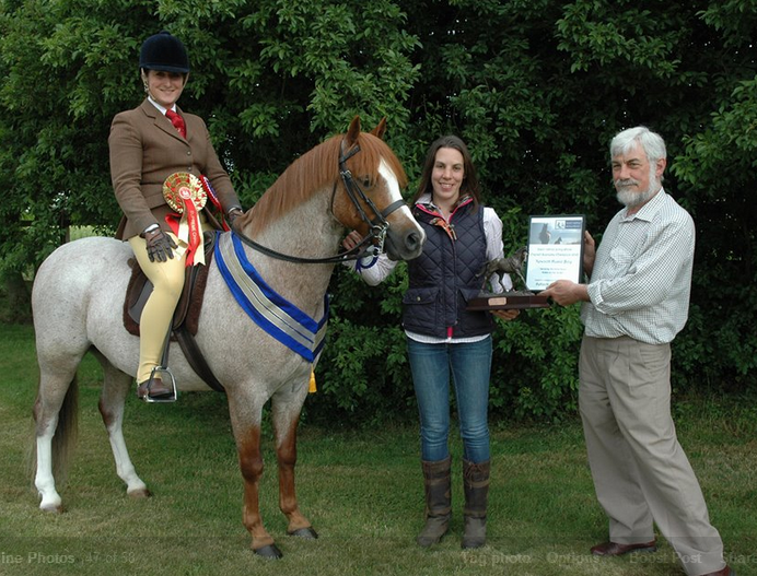 Iceni winner Ella Souster - Iceni Native Pony show – 29th & 30th July host Gwyneth Championship