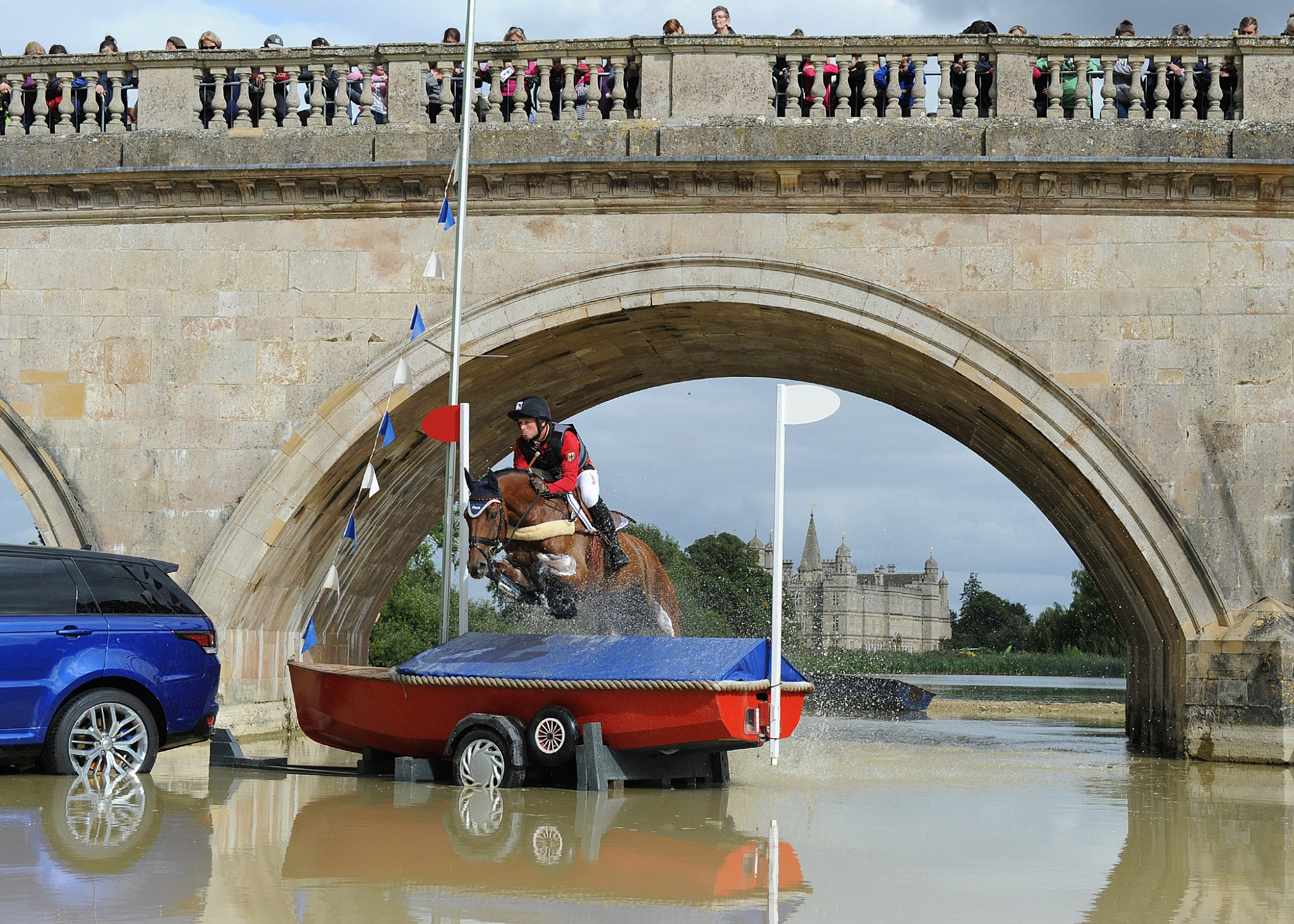 MichaelJung Bur15TM 41159 - Land Rover Burghley Horse Trials: 2016 Box Office Opening
