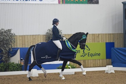 Novice Open and High Achiever Charlotte Barber 436x291 - Lincolnshire Dressage Rider is Awarded PetPlan Equine High Achiever Award 2016