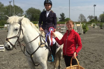 Georgie Marriott Murthwaite Blue Boy Port Royal Equestrian Centre 436x291 - Lincolnshire's Georgie Marriott Wins First Haygain Pony Senior Discovery Second Round at Port Royal Equestrian Centre