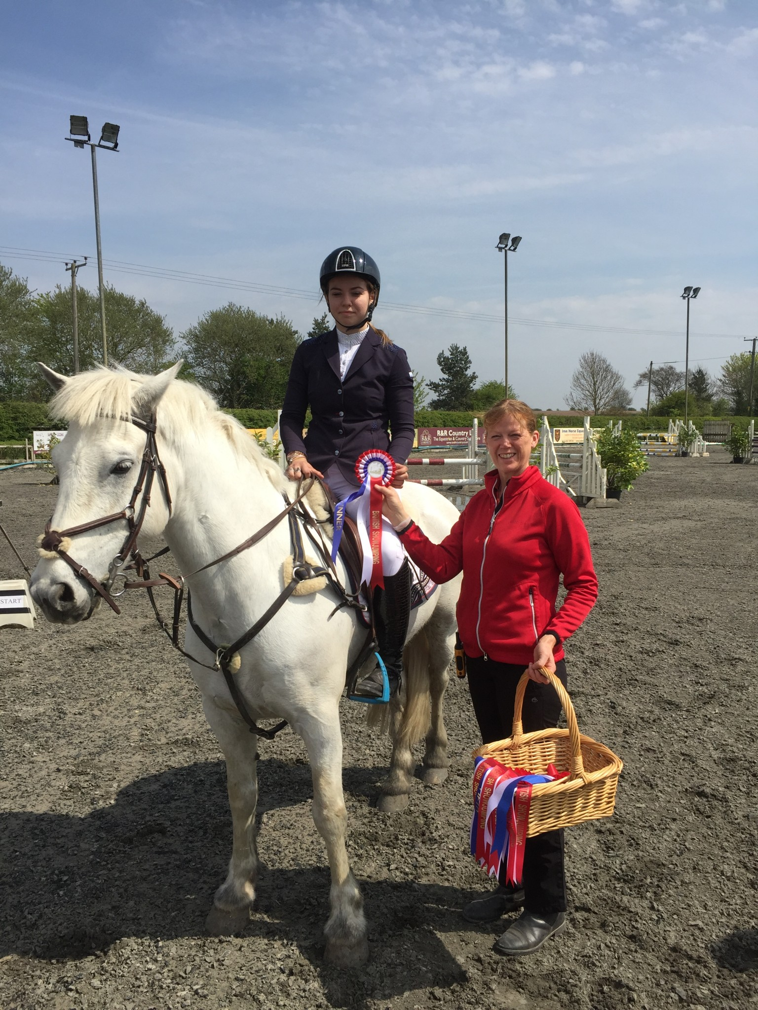 Georgie Marriott Murthwaite Blue Boy Port Royal Equestrian Centre - Lincolnshire's Georgie Marriott Wins First Haygain Pony Senior Discovery Second Round at Port Royal Equestrian Centre