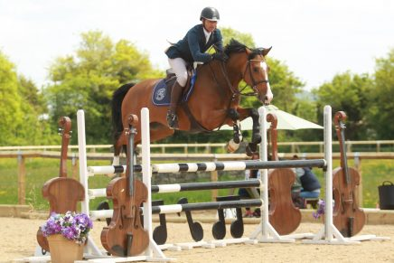 John Steels Lacoste Cherwell Competition Centre Credit Alison Parker Photography 436x291 - Leicestershire's John Steels Jumps to Victory in KBIS Insurance Senior British Novice Second Round at Cherwell Competition Centre
