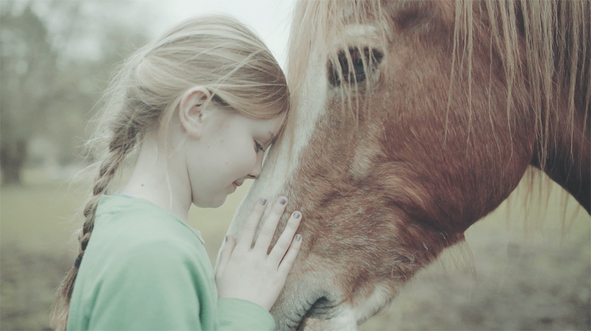 girl and horse 1 - Trigga Helps to Stamp Out Bullying