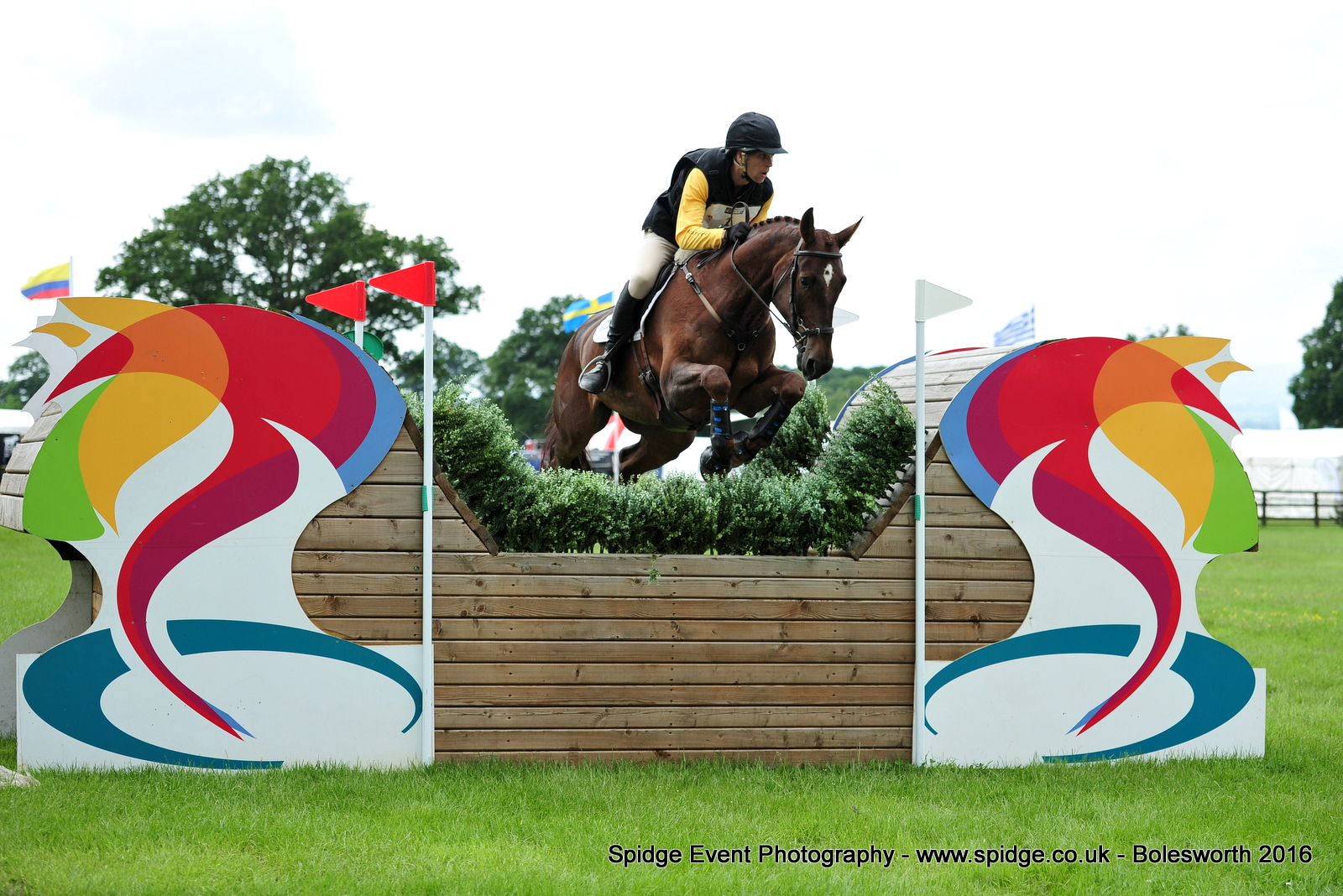 BL1 8293 - Success for Nick Gauntlett at Bolesworth International